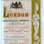 London and Fashionable Resorts